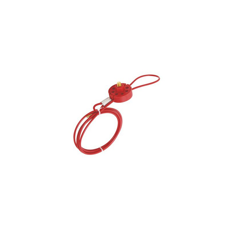 WHEEL TYPE CABLE LOCKOUT HBD-L31