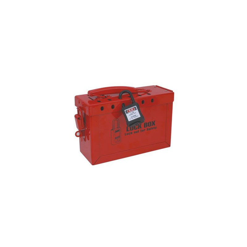 PORTABLE STEEL SAFETY LOCKOUT KIT HBD-X02