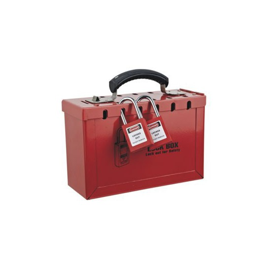 PORTABLE STEEL SAFETY LOCKOUT KIT HBD-X01
