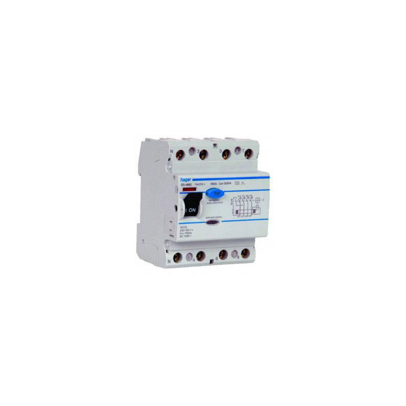 Earth Leakage Circuit Breaker (ELCB) hager