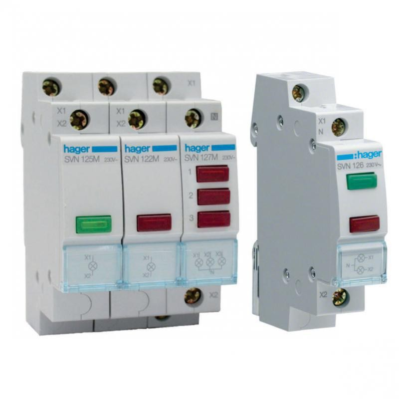 Panel Meters & Indication Lights HAGER