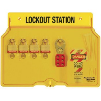 padlock station for 5 padlocks