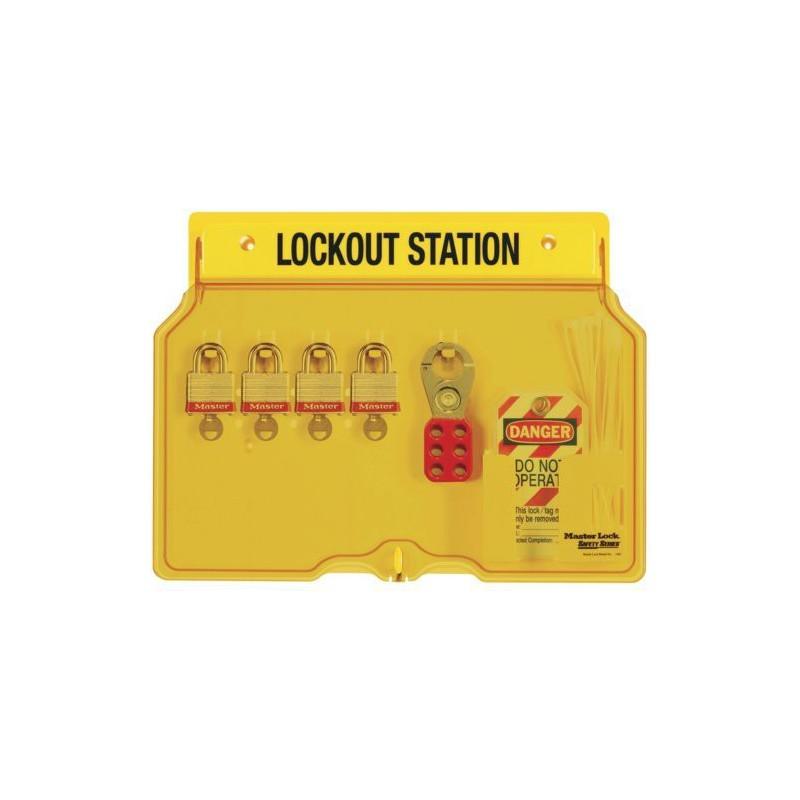 padlock station for 5 padlocks