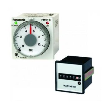Timers, Hour Meters, Limit Switches, PLCs PANASONIC