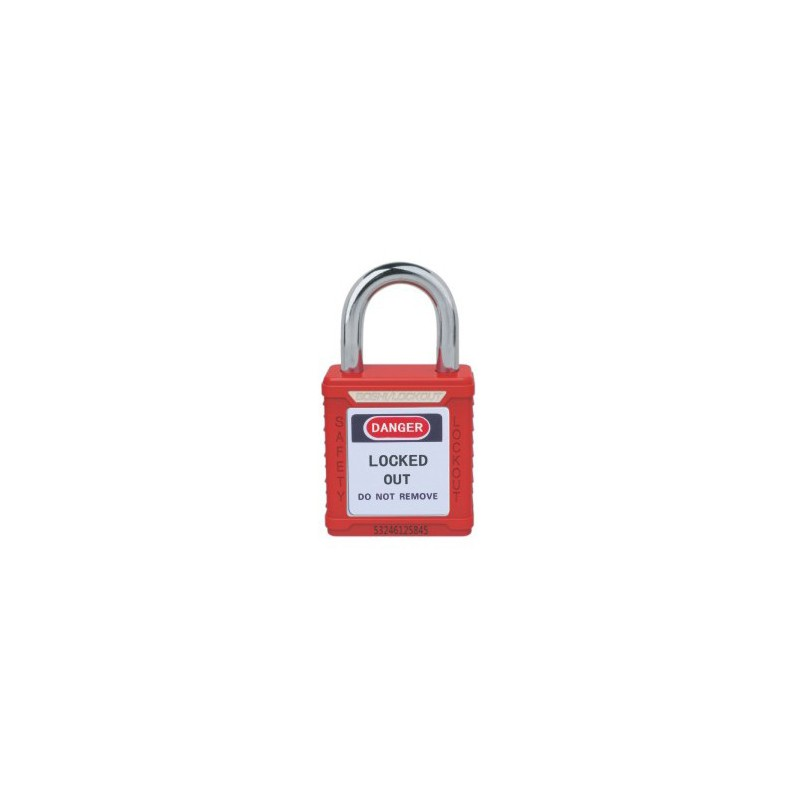 Ultrashort Steel Shackle, Safety Padlock HBD-G61