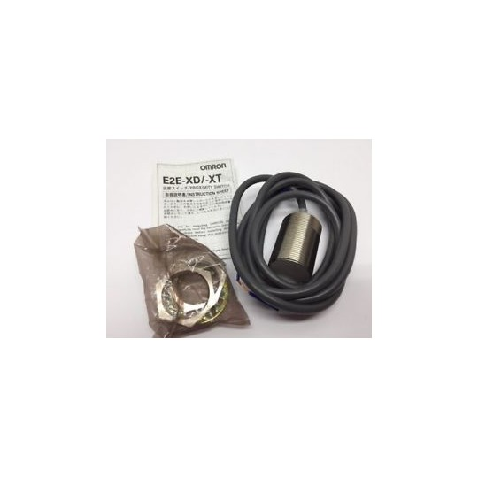E2E-X10D1-N 2M Omron Shielded, Cylinder M30, DC 2-wire , Sensing 10 mm,NO, Polarity, Pre-wired
