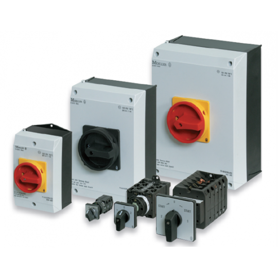 EATON ISOLATED MAIN SWITCHES AND ACCESSORIES (  ISOLATORS)