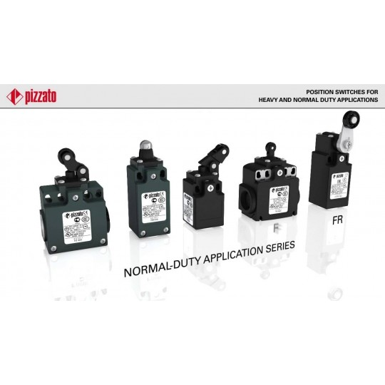 PIZZATO FR Series Limit Switches for Normal Application