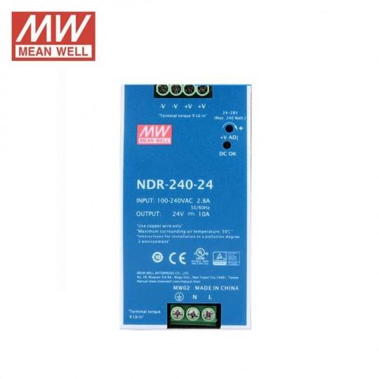 NDR-240-24 Power Supply Rail Mount
