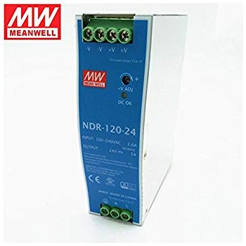 NDR-120-24 Power Supply...