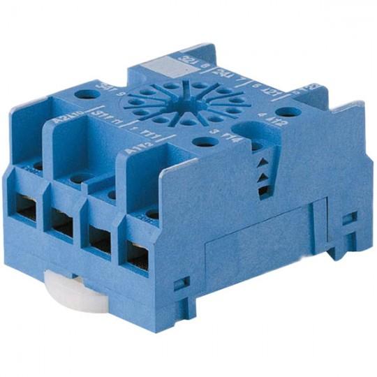 90.27 -  Relay Socket Finder, DIN Rail, Panel, Screw, 11 Pins, 10 A, 250 V