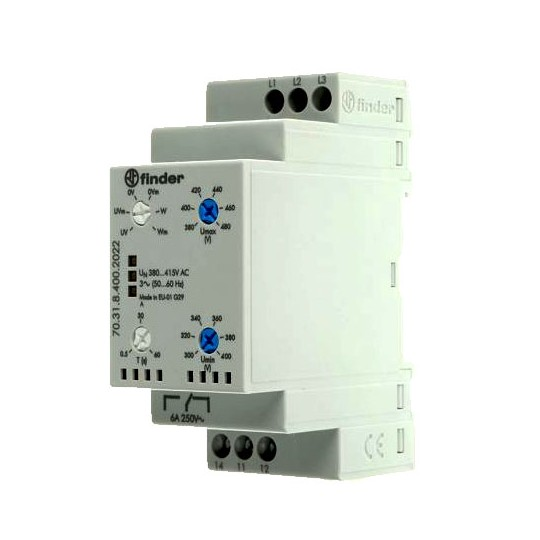 Voltage Monitoring Relay  Type: 703184002022PAS FINDER