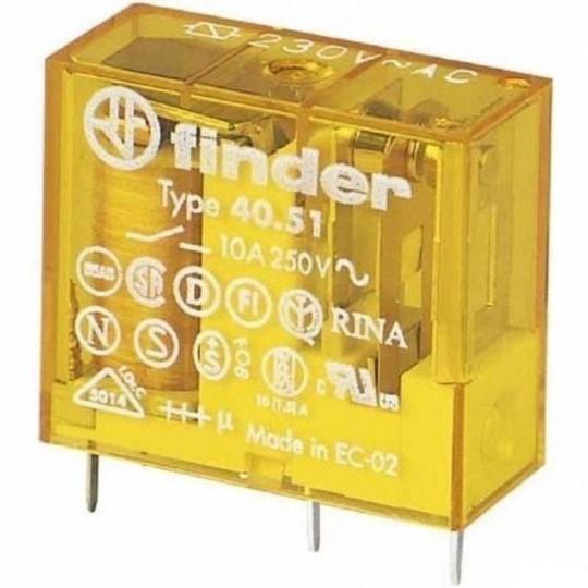 FINDER 40.51 Miniature PCB/Plugin Relays