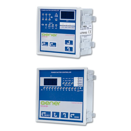 TECHNOLOGIC VARACTOR V650/12 12 steps Power Factor Controller