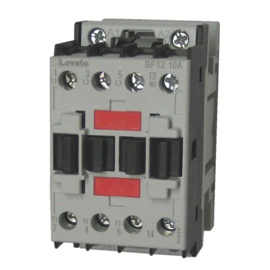 Lovato Electric BF1210A 3-Pole Contactor