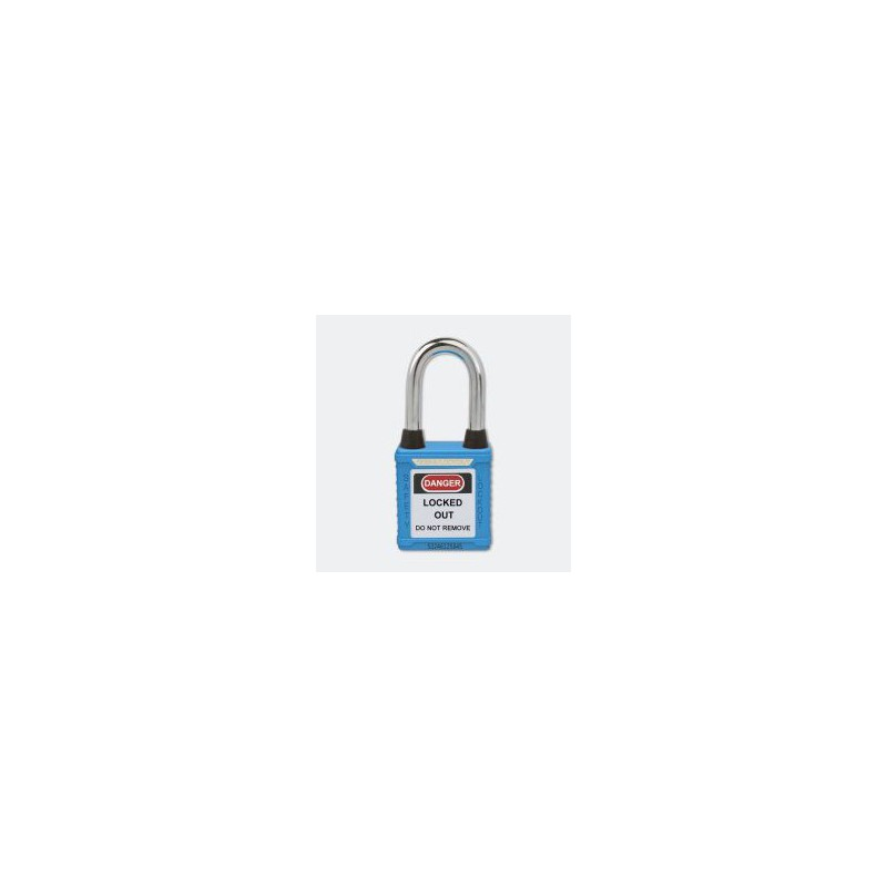 Dustproof Steel Shackle Safety Padlock HBD-G01DP