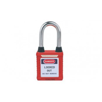 Dustproof Steel Shackle Safety Padlock HBD-G01DP